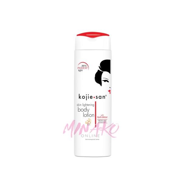 Kojie San Body Skin Lightening Lotion SPF25 (250ml)
