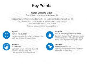 Laneige Sleeping Mask Key Points