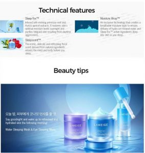 Laneige Sleeping Mask Beauty Tips