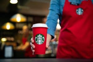 Starbucks Red Reusable Plastic Cup