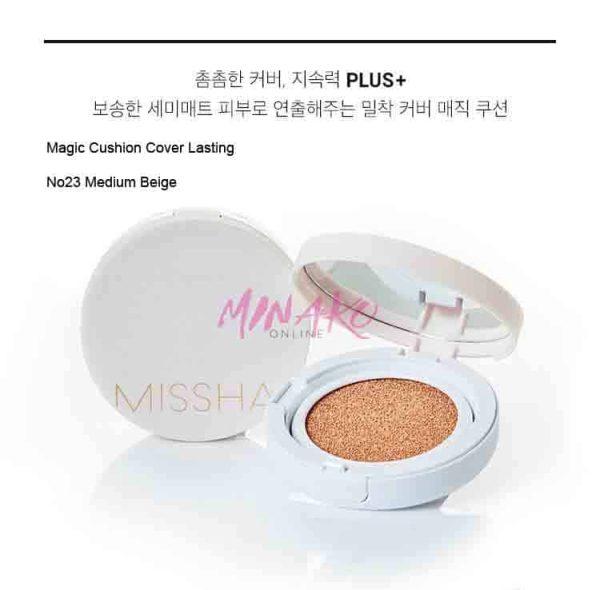 MISSHA - Magic Cushion Cover Lasting 23 Medium Beige