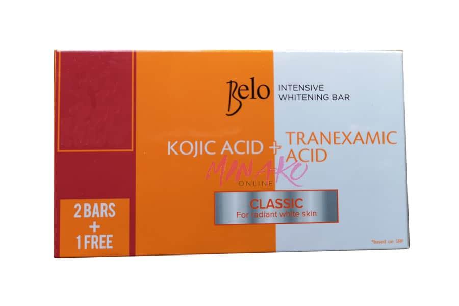 Belo Intensive Whitening Soaps (3 x 65g)