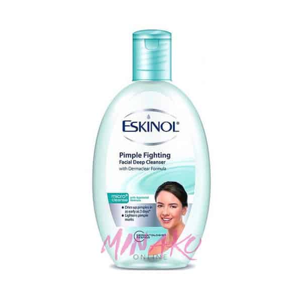Eskinol Micro Cleanse Pimple Fighting Facial Deep Cleanser with Dermaclear Formula