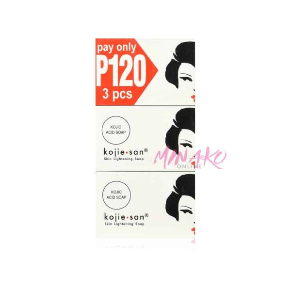 Kojie San Skin Lightening Soap Triple Pack