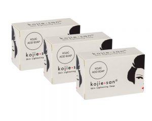 Kojie San Skin Lightening Soap 3 Pack Set (3 x135g)