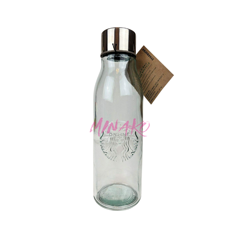 Starbucks Recycled Cold Glass Water Bottle (Grande / 16 fl oz)