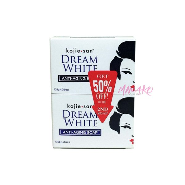 Kojie San Dream White Anti Aging Soap Double Pack (2 x 135g)