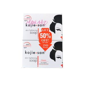 Kojie San Skin Lightening Soap Double Pack (2 x 135g)