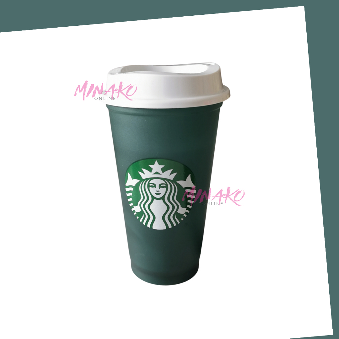 Starbucks Colour Changing Reusable Cup Green / Red Grande (473 ml)