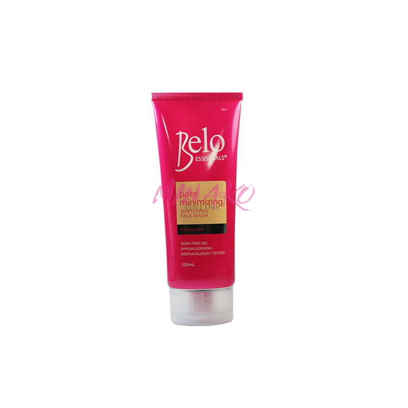 Belo Essentials Pore Minimizing Whitening Face Wash (100ml)