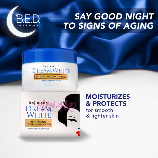 Kojie San Dream White Anti Aging Cream SPF30 30g