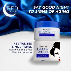 Kojie San Dream White Anti Aging Overnight Cream 30g
