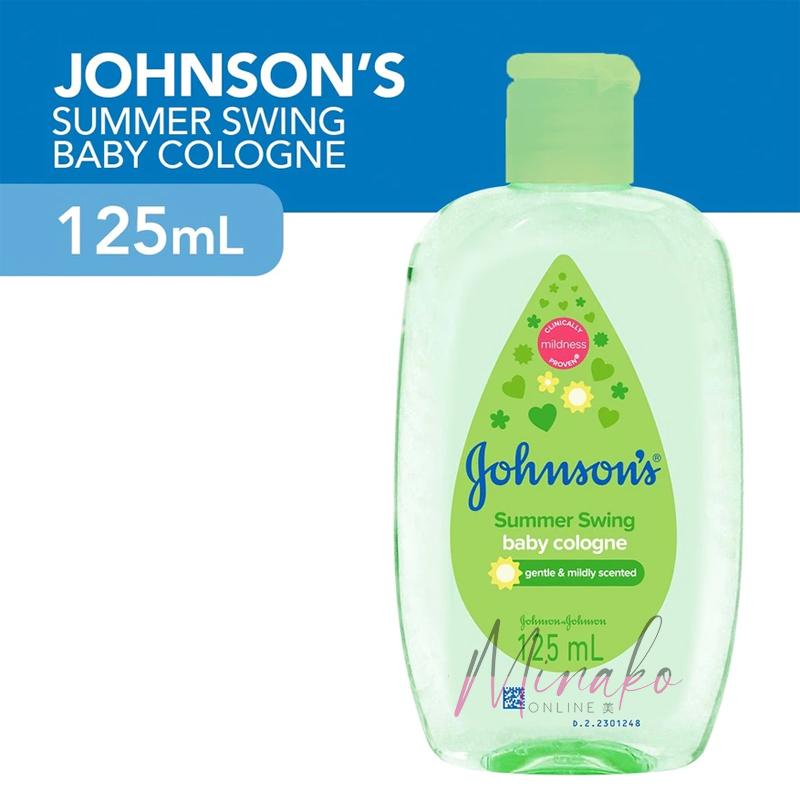 Johnson's Baby Cologne Summer Swing (125ml)